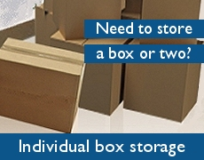Domestic item storage boxes free when you take space